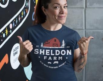 Women's Personalized Farm Shirt Barn Farmer T Shirt Gift For Farming Beef Dairy Cow Sow Pig Vintage Farm TShirt Ladies Soft Graphic Tee