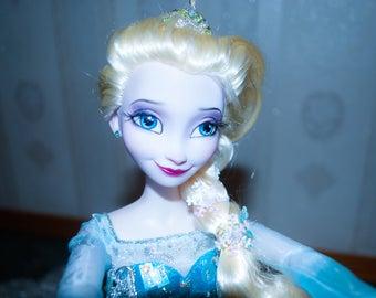 Elsa Singing Doll OOAK