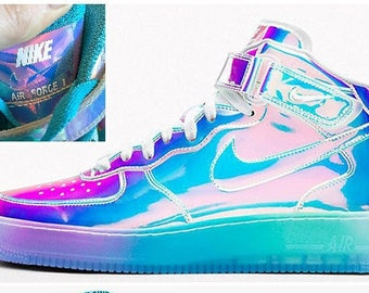 NikeID Air Force - Iridescent (ready to ship)