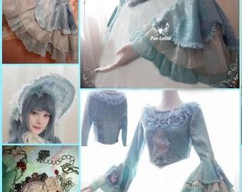 Mermaid lolita set
