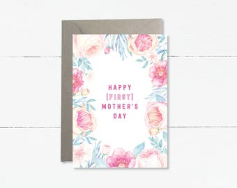 Happy (first) Mother's Day Card