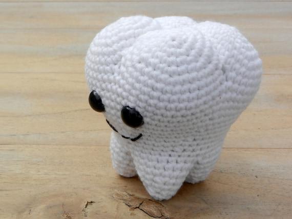 Crochet Tooth | Crochet Toys - Author's crochet toys & patterns | 428x570