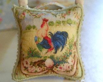 dollhouse miniatures aubussom pillow