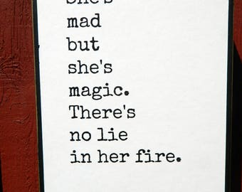 Mad Quotes | She S Mad Quotes Etsy