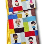 Star Trek Baby Blanket, Star Trek Nursery, Star Trek Baby Quilt,  Star Trek Quilt, Star Trek Crib Bedding,  Star Trek Baby Bedding, Quilt