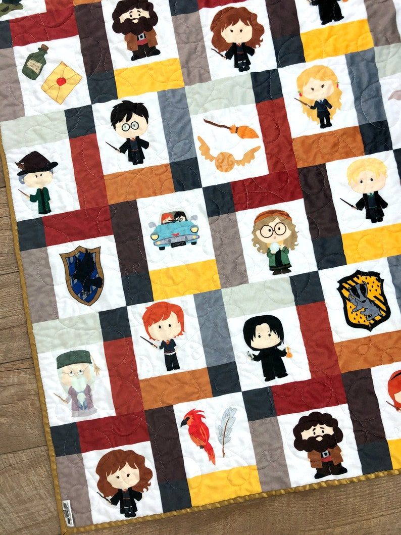 Harry Potter Baby Blanket Harry Potter Blanket Harry Potter image 0