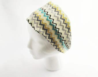 Chevron Headband - Fitness headband - Non Slip Headband - Wide headband - Ready to Ship