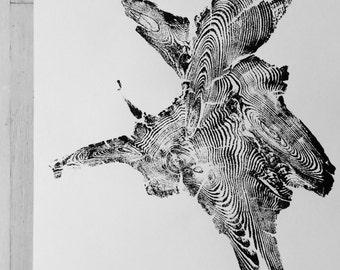 Idaho Tree Roots, Real tree roots, woodblock print, natural patterns, natural textures, boho forest art, Tree ring prints, Tree roots art
