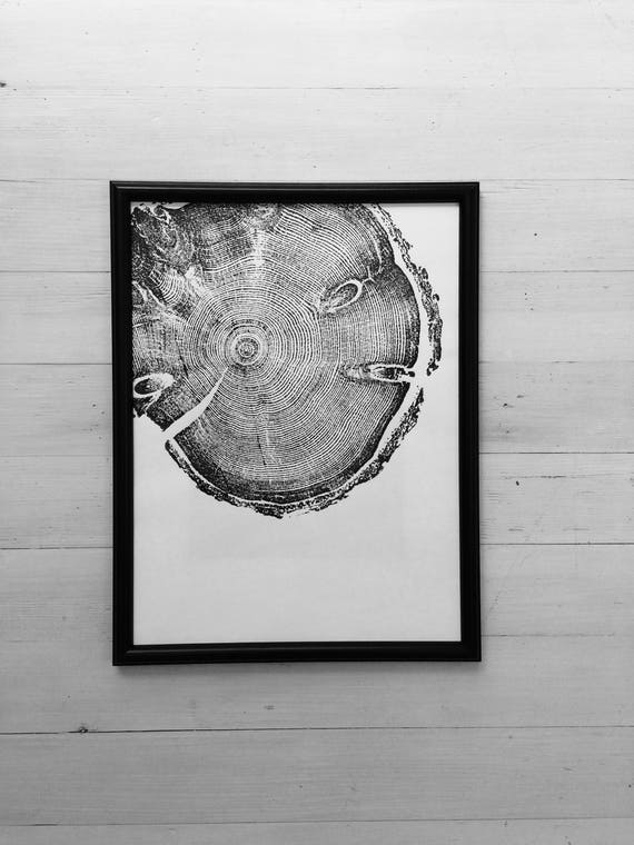 Tree ring art, Tree inspired art, pine tree, woodcut art, tree ring print, Best man Gifts, Christmas art gift, Tree ring wall art, Woodcut
