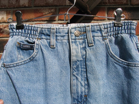 1980s Lee Jeans - High waist - size 4/6 - image 2