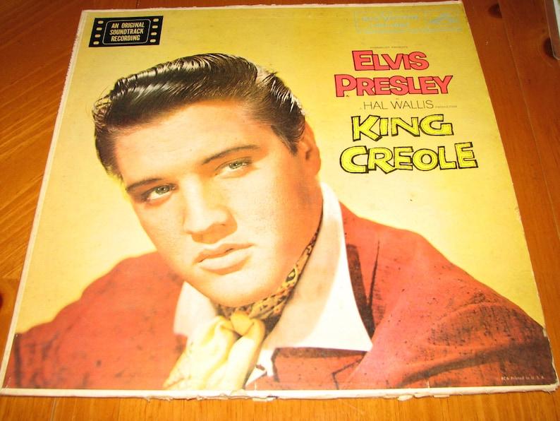 5311f789cdc Elvis Presley King Creole RCA Victor LPM 1884