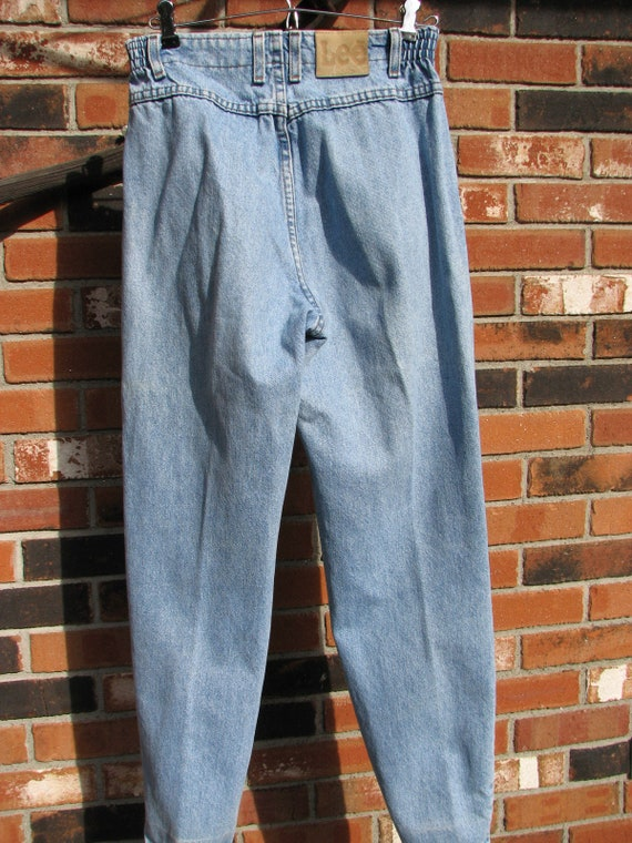 1980s Lee Jeans - High waist - size 4/6 - image 3