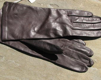 Vintage Leather Gloves - Fine Leather Gloves - Leather Gloves
