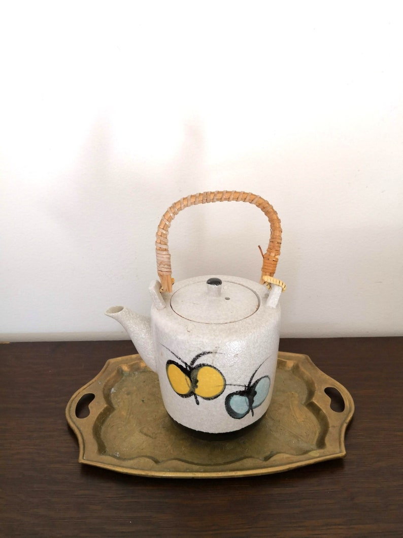 Vintage Ceramic  Teapot Japan