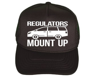 Regulators, Mount Up! hat **FREE SHIPPING**