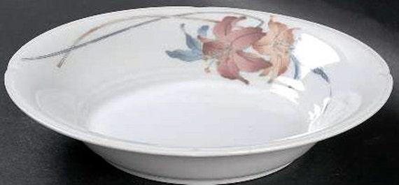 Vintage Nouvelle Cusine Fine Chine Anatole fruits/Dessert/Sauce Bowl