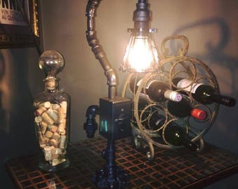 Industrial pipe lamp
