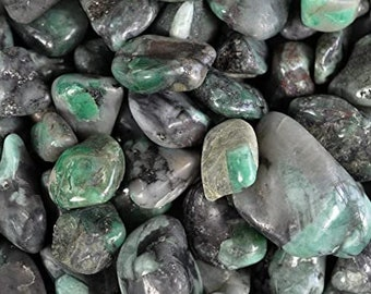 Emerald - Heart Chakra - Healing - Tumbled