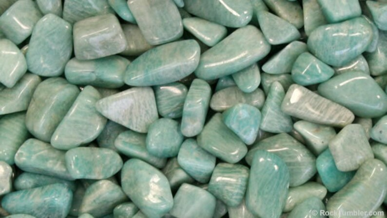 Amazonite Tumbled & Rough  Reiki Healing Gemstone Crystal image 0