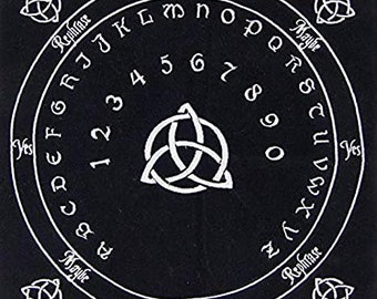 Pendulum Mats - Velvet - Embroidered