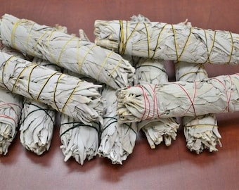 White Sage Bundle - Large or Medium or Small - California grown