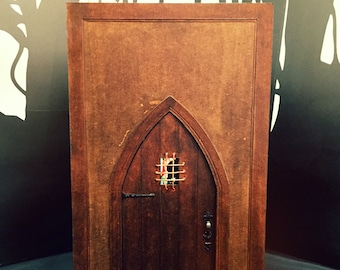 SVG File Dollhouse Miniature 1/12th Scale Medieval Book Nook for Cricut Maker