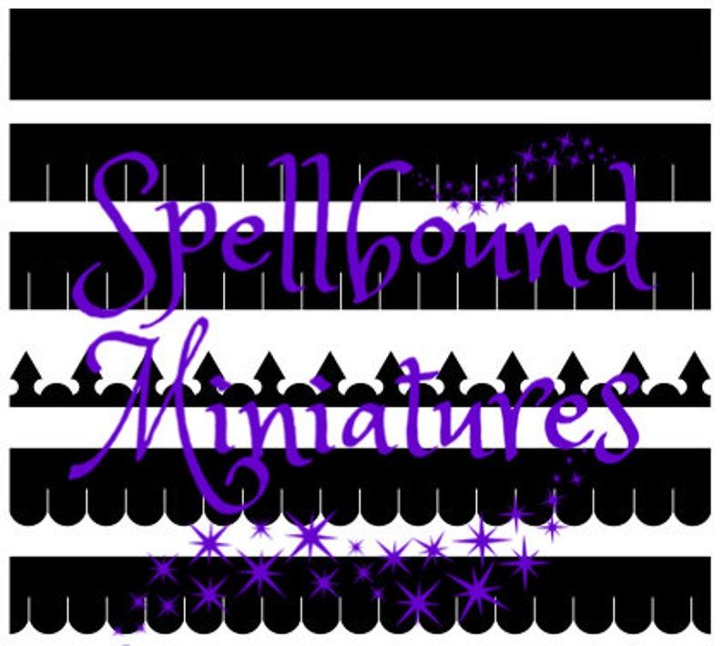 SVG File to make Miniature Dollhouse Shingles on a Cricut or image 0