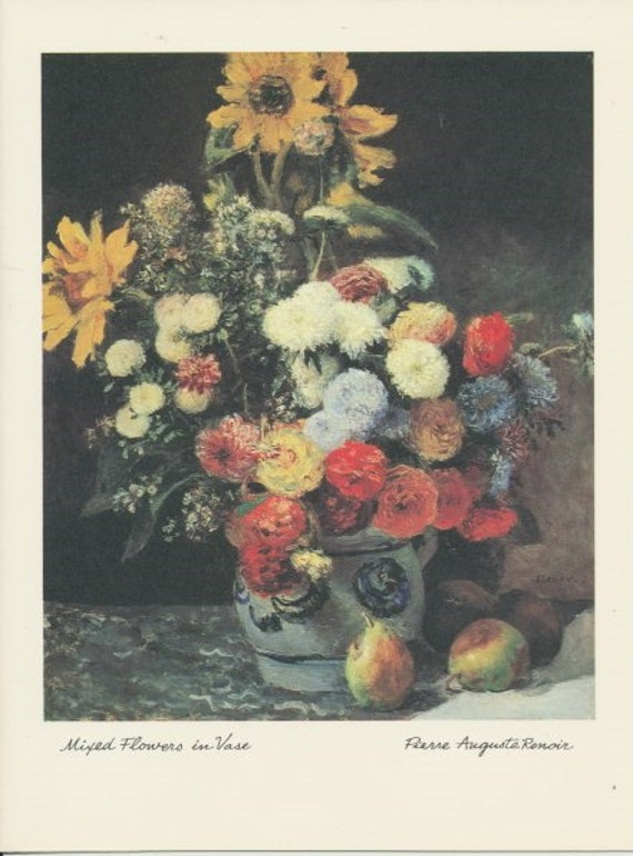 Renoir paintings cardstock paper ephemera greeting cards etsy renoir paintings cardstock paper ephemera greeting cards scrapbooking crafts decoupage m4hsunfo