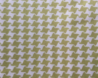 Green Herringbone from Summer in the City by Urban Chiks for Moda Fabrics, Quilting Cotton