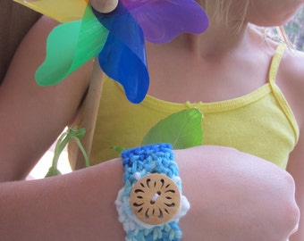 Knitlet - Handmade Knit Cuff Bracelet for kids