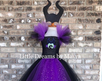 Maleficent Outfit Etsy