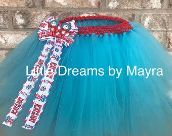 510a31c1133 Fast shipping Thing 1 Thing 2 inspired tutu