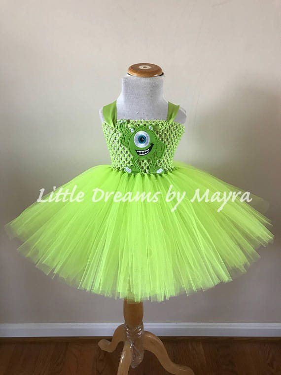 Monsters Inc Tutu Dress