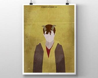 Horns | Daniel Radcliffe Print
