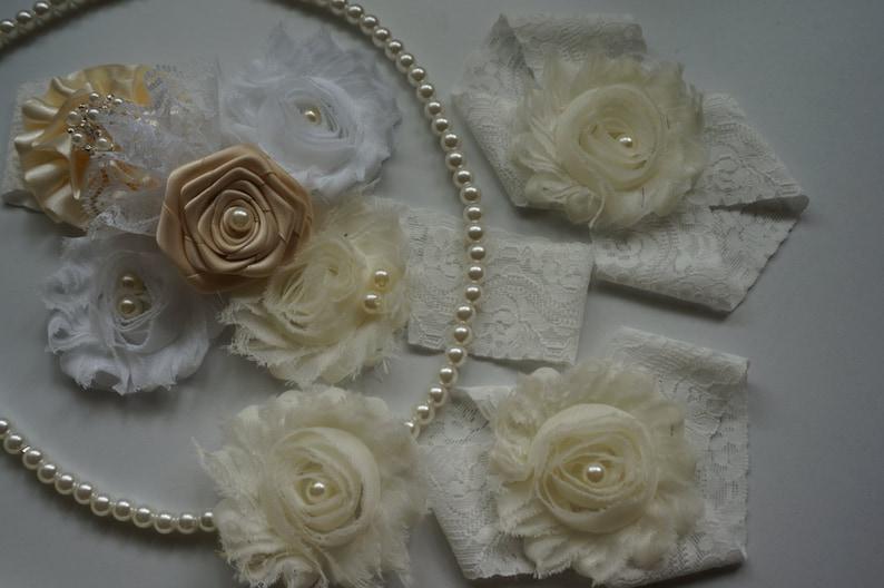 Ivory and hot pink baby dress,Flower girls dress,Ivory and pink Dress,baby dress Ivory baby dress cream dress Ivory dress