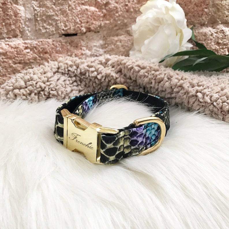 Adjustable dog collar Vibes image 0