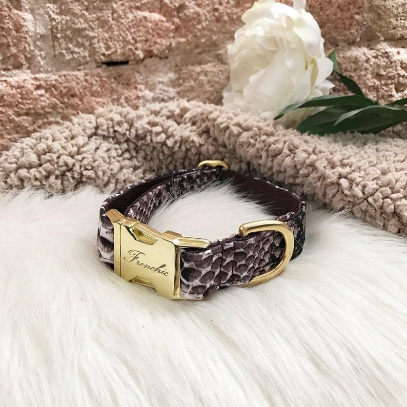 Adjustable dog collar Jungle image 0