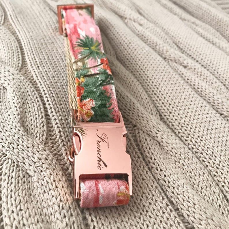 Adjustable dog collar Hawaii image 0