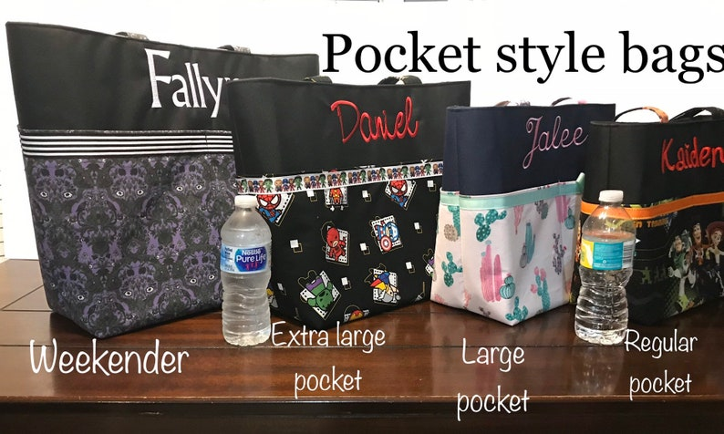 Personalized Haunted Mansion diapertote bag made with Haunted mansion fabric  haunted mansion tote haunted mansion bag hitchhiking ghost