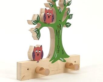 Baum Garderobe Etsy