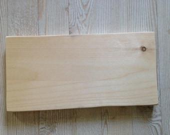 "12"" x ""6 Custom photo on Maine pine wood panel"