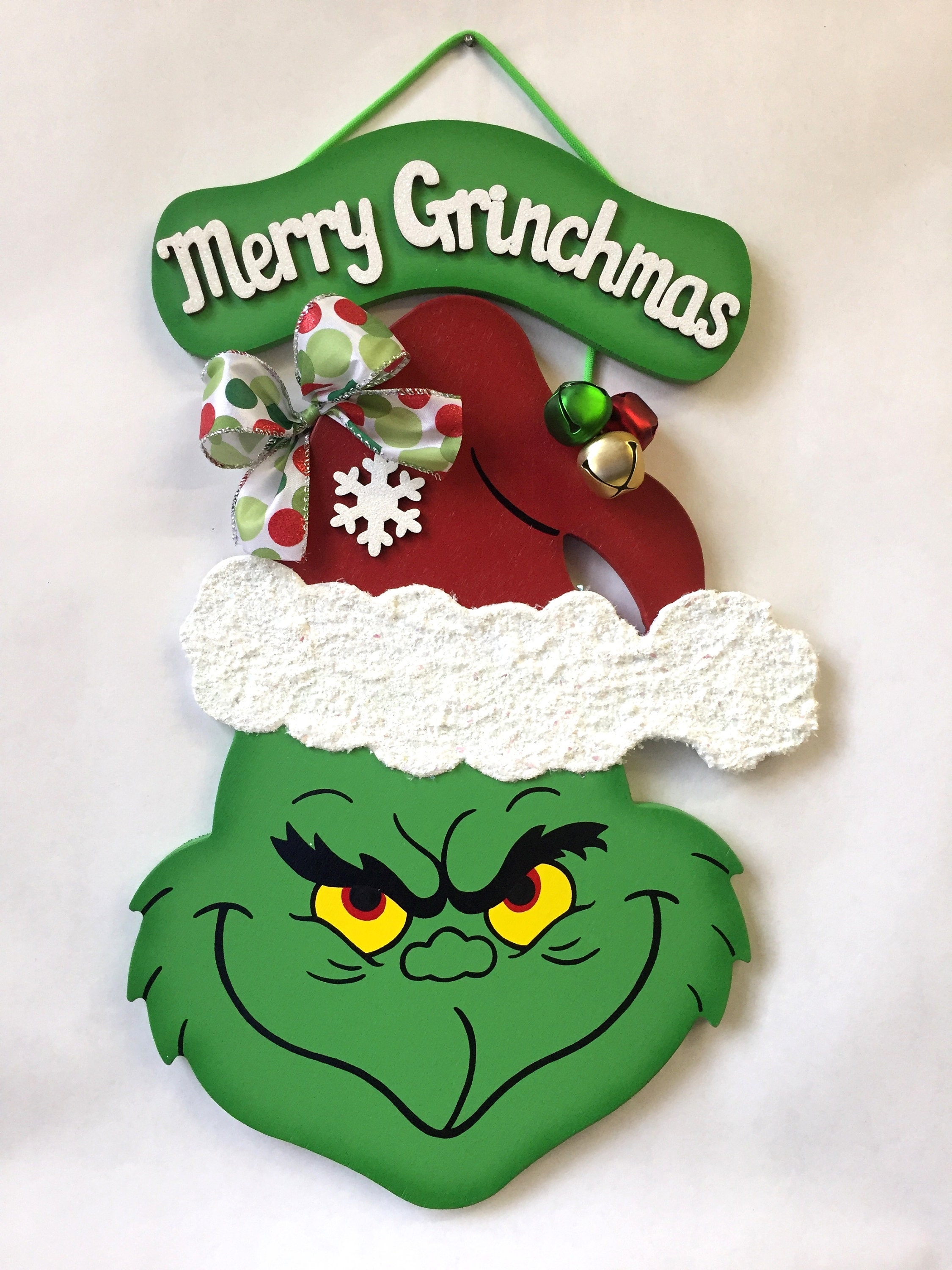 Merry Grinchmas Grinch Christmas Grinch Grinch crafts Grinch | Etsy
