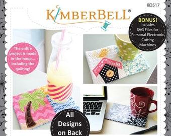 Kimberbell - In The Hoop - Holiday & Seasonal Mug Rugs  Volume 2  KD517 - CD Machine Embroidery