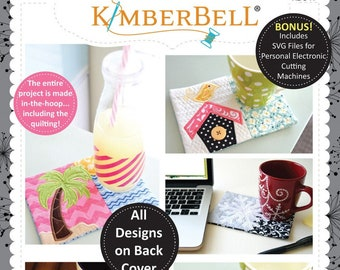 Kimberbell's Holiday & Seasonal Mug Rugs Volume 2 - MACHINE Version CD -  Kimberbell Designs - DIY Project KD517