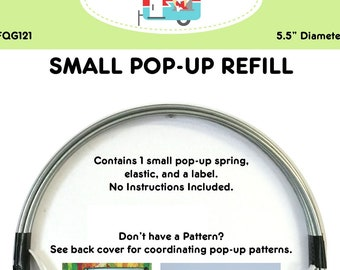 Pop Up Refill Small - Fabric Container, Can Cozy, Scrap Basket, Pencil Holder - Fat Quarter Gypsy By  Joanne Hillestad  - DIY Project