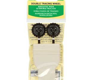 Double Tracing Wheel - Pattern Wheel - Clover Notion - 487