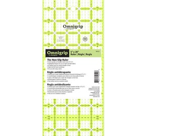 OmniGrip - Rectangle Ruler - RN520 - 5-Inch x 20-inch - sold by the each