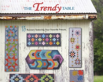 The Trendy Table - Anka's Treasures By Heather Peterson - 28-Page Softcover Book - Do It Yourself Project