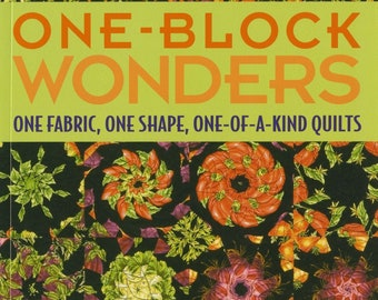 One Block Wonders - Quilt Pattern Book - Maxine Rosenthal - Softcover # 10428