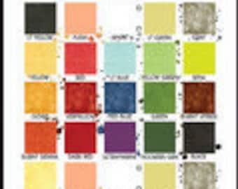 "The Paint Tin Quilt by J. Wecker Frisch - DIY Quilt Pattern - Finishes 36""x54"""